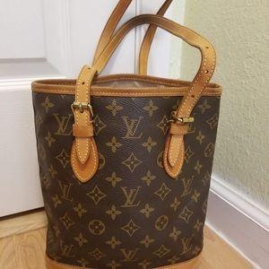 Authentic Louis Vuitton Pm Bucket Bag